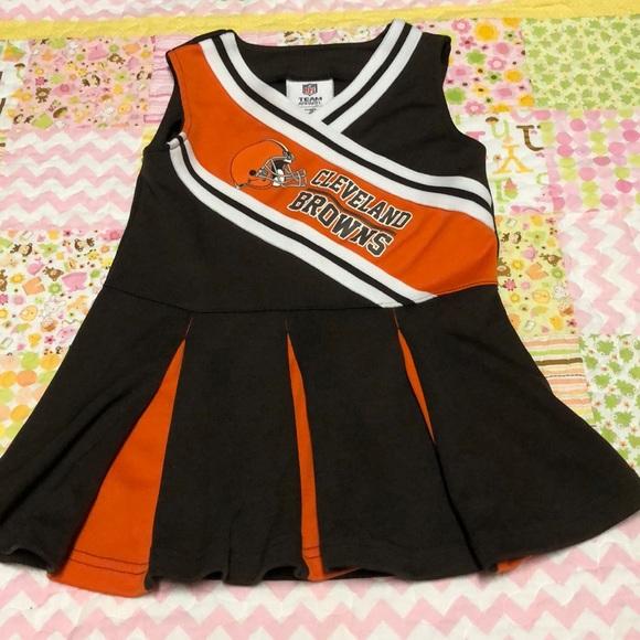 00d9fb12 NFL Cleveland Browns Cheer Dress 3T